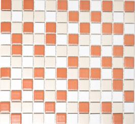 Mosaico Classica MIX CREMA MATT