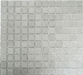Mosaico Glitter Argento