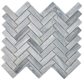 Mosaico Stone FISH GREY