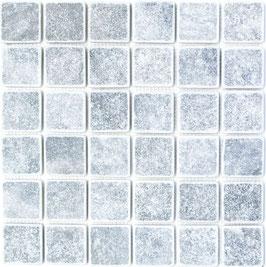 Mosaico Marmo 48mm Bardiglio anticato