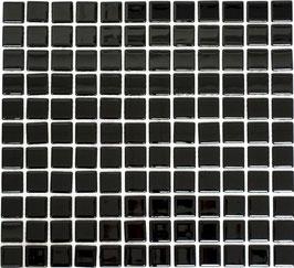 Mosaico CRYSTAL NERO Vetro lucido
