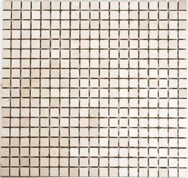 Mosaico Marmo 15mm Botticino anticato