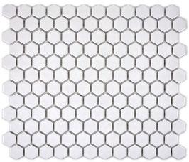 Mosaico Esagoni BIANCO MAT