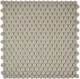 Mosaico Kuba ESAGONI 15mm TAUPE