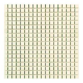 Mosaico in Bianco Perlino anticato