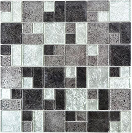 Mosaico Riflessi 23/48mm Mix Argento