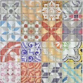 Mosaico Patchwork Optic Fantasy