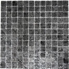 Mosaico Foglia 23mm Carbone