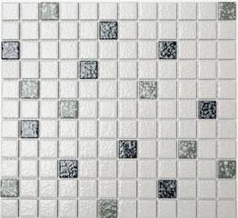 Mosaico Classica MIX BIANCO NERO