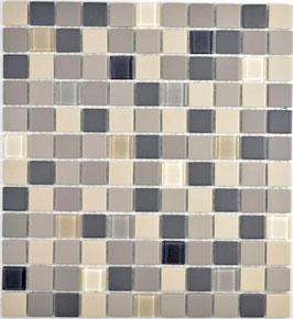 Mosaico Ruvido MIX BEIGE VETRO 25 non smaltato