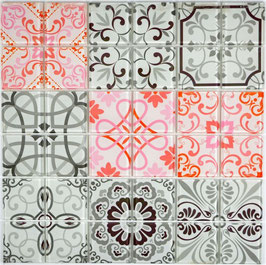 Mosaico Patchwork Francia