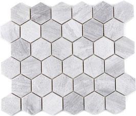 Mosaico Esagoni medi GRIGIO BARDIGLIO