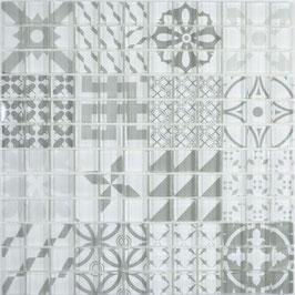 Mosaico Patchwork Optic White
