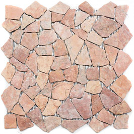 Mosaico Palladiana Marmo Rosso Verona