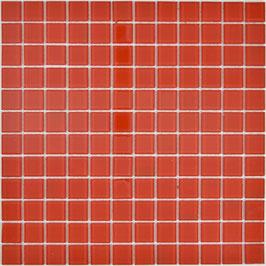 Mosaico ROSSO Vetro Trasparente lucido