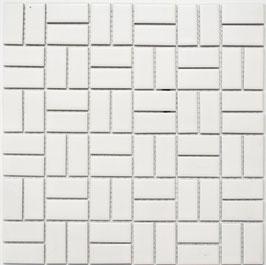 Mosaico PURO NEVE KUBIK 23/48 MAT