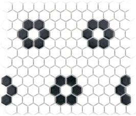 Mosaico Esagoni FIORE MAT