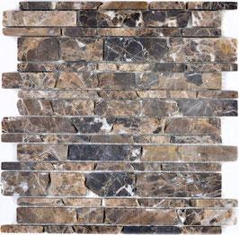 Mosaico Muretto Marmo Emperador Big anticato