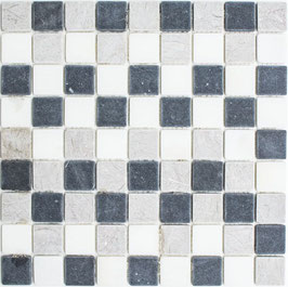 Mosaico Marmo 32mm Trix anticato