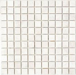 Mosaico Marmo 26mm Beige Cristallino anticato