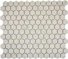 Mosaico Esagoni 23/26 SALE PEPE  ANTISCIVOLO opaco