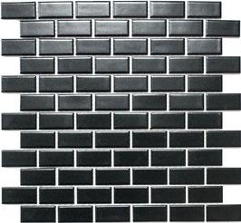 Mosaico PURO NERO RETTANGOLO 23/48 MAT