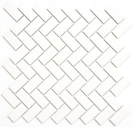 Mosaico PURO NEVE TRECCIA 23/48 MAT