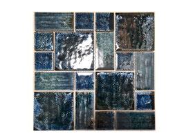 Mosaico Japan COMBINATO GREEN lucido