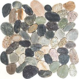 Mosaico SASSI DI FIUME MULTICOLOR piatti