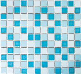 Mosaico Classica MIX BLU LUCIDO