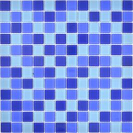 Mosaico MIX BLUETTE Vetro Trasparente lucido