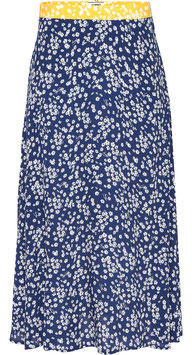 Tommy Hilfiger, TWJ Floral Midi Skirt, Scattered Floral / Blue Depths, DW0DW07636 0G7