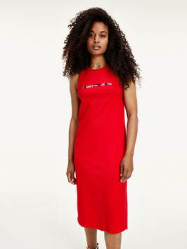 Tommy Hilfiger, TJW Logo Tank Dress, Deep Crimson, DW0DW07907 XNL