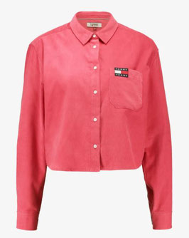 Tommy Jeans Hilfiger TJW Washed Cord Shirt, Clared Red, DW0DW07272 XAV