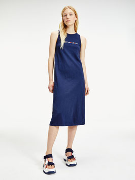 Tommy Hilfiger, TJW Logo Tank Dress, Twilight Navy, DW0DW07907 C87
