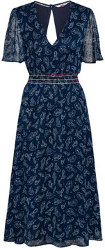 Tommy Hilfiger, TJW Open Back Dress, Paisley Print/Twigiht Navy, DW0DW07908 0ZV