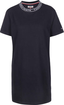 Tommy Hilfiger, TJW Branded Neck Tee Dress, Twilight Navy, DW0DW07923 C87