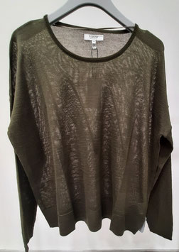 b.young Pullover Nors, Olive Night, 20808614
