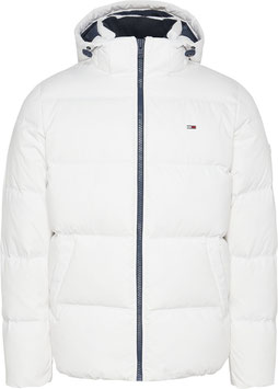 Tommy Jeans Hilfiger Jacke, TJM Essential Down Jacket, White, DM0DM08762 YBR