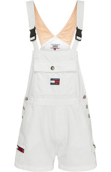 Tommy Hilfiger, TJW Dungaree Short CLWTH, Classic White Twill, DW0DW08138 1CD