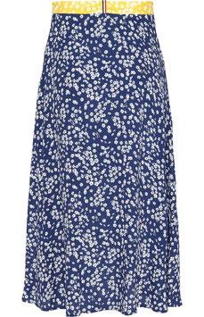 Tommy Hilfiger, TWJ Floral Midi Skirt, Scattered Floral / Blue Depths, DW0DW07636 0G7