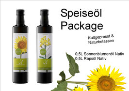 Speiseöl Package