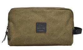 Souve - Canvas WASH BAG olive