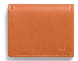 Bellroy - SLIM SLEEVE WALLET burnt orange