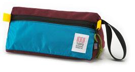 Topo Designs - (Kultur-) Tasche DOPP KIT - aqua burgundy