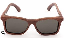 Mexiconex - Holzbrille 80s, Nussbaum