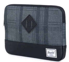 Herschel Supply - iPad Air SLEEVE  plaid/black