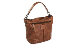 Chesterfield Handtasche Leder Lisa