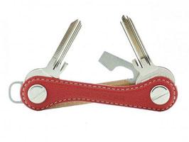 Keykeepa Leder Nubuk Red