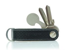 Keykeepa Leder LOOP Carbon Optik